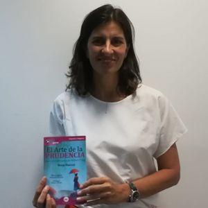 Elena Valderrábano ya tiene su GuíaBurros: El arte de la prudencia