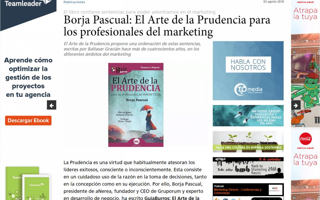 Marketing Directo se hace eco del GuíaBurros: El arte de la prudencia