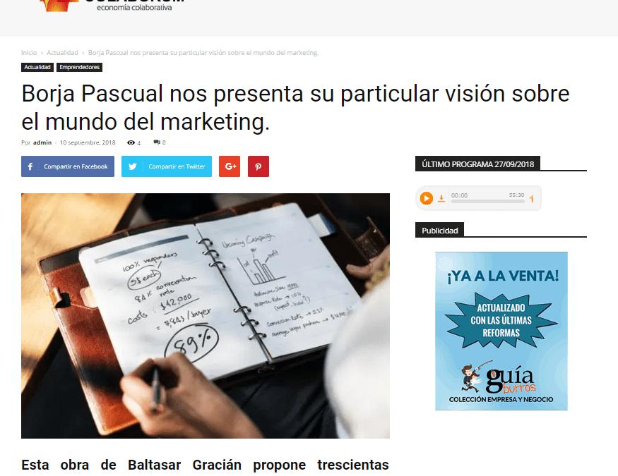 Colaborum, medio especializado en economía, habla sobre el último trabajo de Borja Pascual